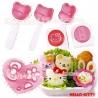 Hello Kitty Decorative Bento Mold Tools Set