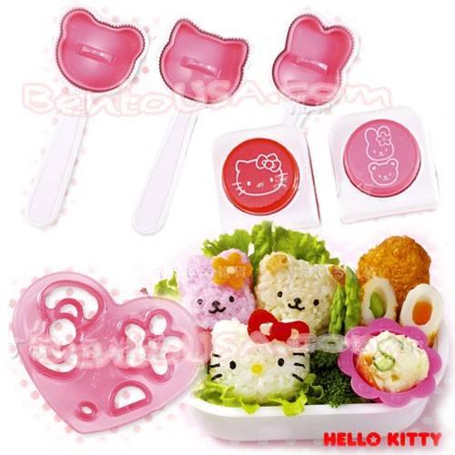 Sanrio Hello Kitty rice mold Japan