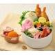 Microwavable Bento Silicone Food Cup Animal 6 pcs