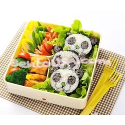 Japanese Sushi Nori Maki Rice Mold Roll Kit Panda Head