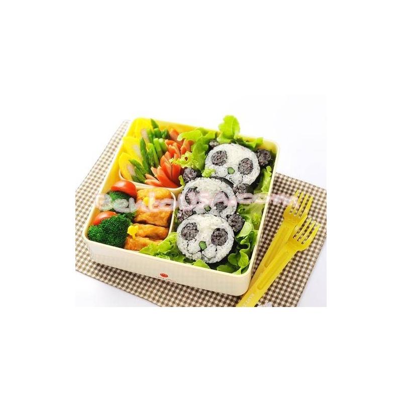 japanese sushi nori maki rice mold roll kit panda head for egg mol. Black Bedroom Furniture Sets. Home Design Ideas