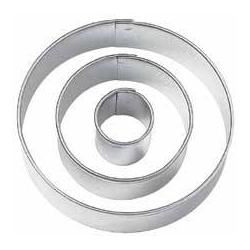 Bento Decoration Ham Cheese Cookie Cutter Round Cut Out