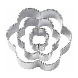 Bento Decoration Ham Cheese Cookie Cutter Flower Cut Out