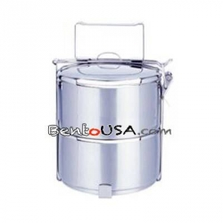 Finest Stainless Steel 2 tier Tiffin Bento Lunch Box