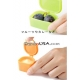 Microwavable Bento Silicone Food Cup with Lid for dressing