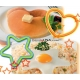 Bento Silicone Cooking Mold Deluxe set with Turner
