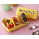 Japanese Triangle Rice Ball Bento Lunch Box Omusubi Happy Onigiri