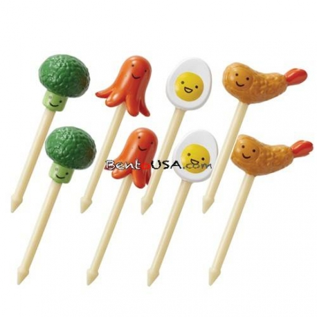 Japanese Bento Accessory 3D Food Picks Broccoli