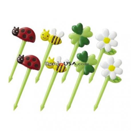 Japanese Bento Accessory 3D Food Picks Honey Bee