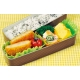 Silicone Microwavable Reusable Bento Baran and Food Cup Lettuce Leaf