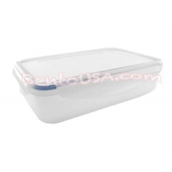 Microwavable Airtight 2 Removal Divider Bento Lunch Box