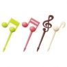 Japanese Bento Cute Food Pick 16 pcs for Bento Box - Music