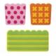 Silicone Japanese Bento Baran Sheet Microwavable Reusable Pop