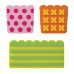 Silicone Japanese Bento Baran Sheet Microwavable Reusable Pop