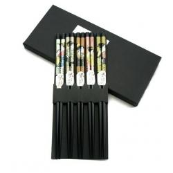 Japanese Bento Accessory Chopsticks 5 Pairs kafuh Set