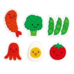 Microwavable Bento Baran Food Divider Sheet Set 24pcs