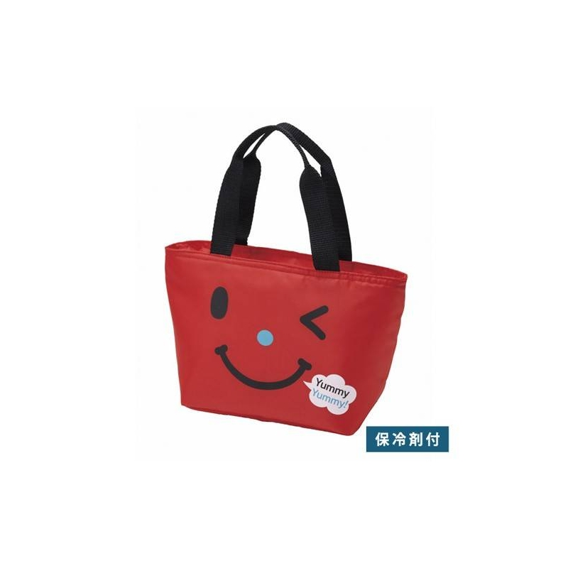 insulated bento lunch bag with cold gel pack red for bento. Black Bedroom Furniture Sets. Home Design Ideas