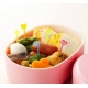 Japanese Bento Cute Food Pick 50 pcs - Clear