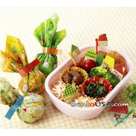 Bento Lunch Decoration Accessories Beginner Kit Town