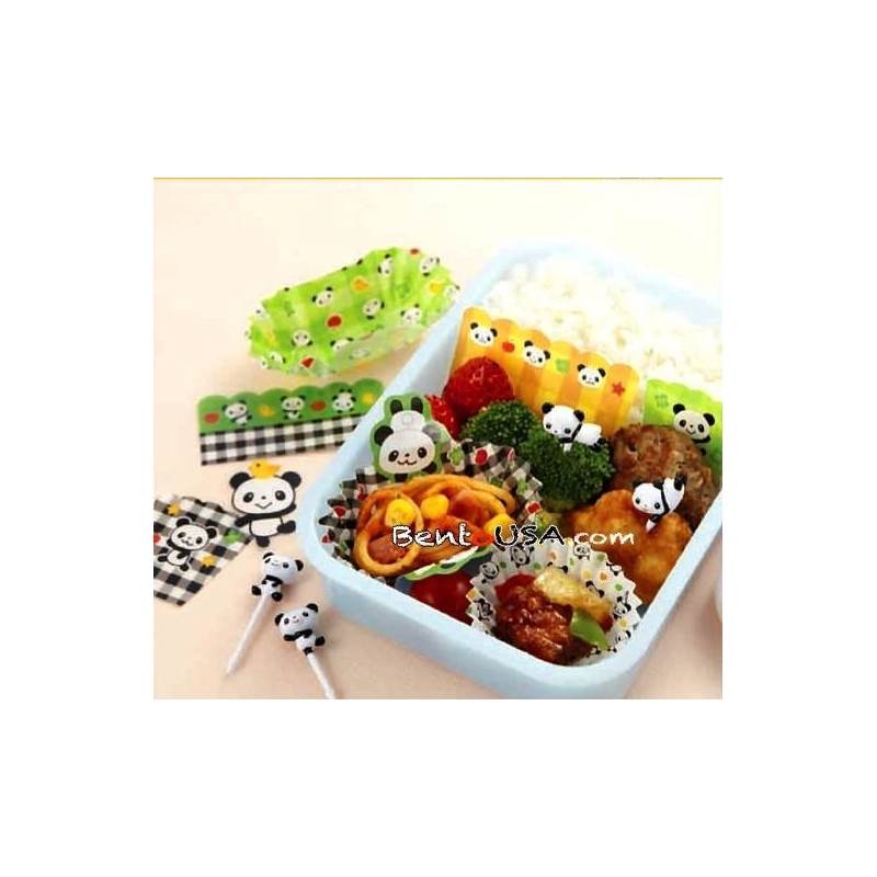 Bento lunch decoration accessories beginner kit panda for for 7p decoration