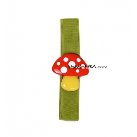 Japanese Bento / Lunch Box Bento Strap Mushroom