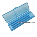 Japanese Bento Chopsticks with Case Portable Blue