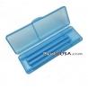 Japanese Bento Chopsticks with Case Portable Blue
