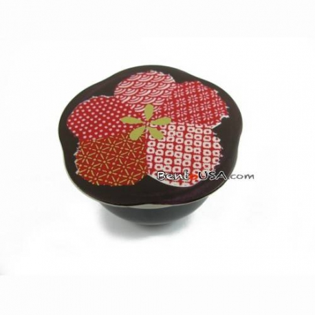 Microwavable Japanese Small Bento Box Snack Flower