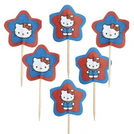 Bento Hello Kitty Fun food pick 24 pcs