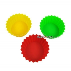 Japanese Bento Box Accessories Silicone Food Cup size 8 Colorful