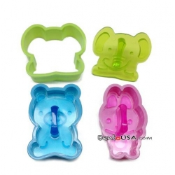 Bento Sandwich Cutter Small Elephant Rabbit Bear