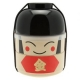 Japanese Bento Box 2 tier Lunch Box Kokeshi Set Kintaro