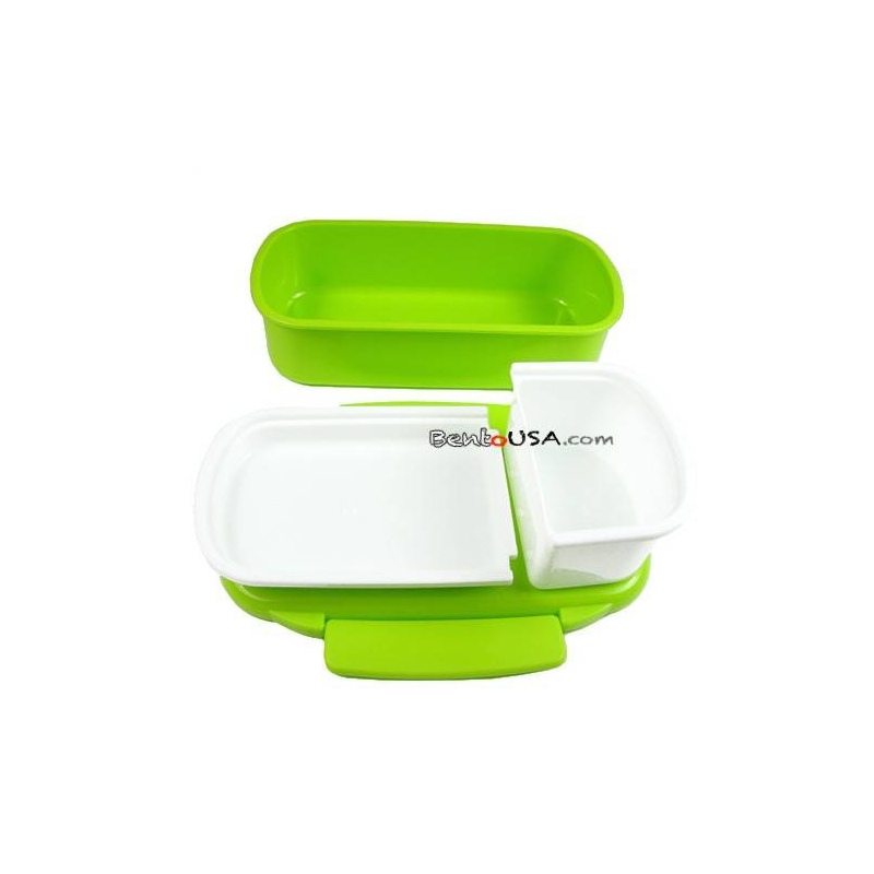 japanese microwavable bento lunch box polka dot with. Black Bedroom Furniture Sets. Home Design Ideas