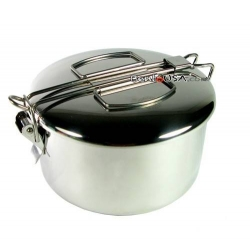 Finest Stainless Steel 2 Tier Bento Lunch Box