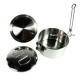 Finest Stainless Steel single tier Bento Lunch Box