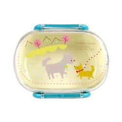 Microwavable Bento Snack Food Container Dog