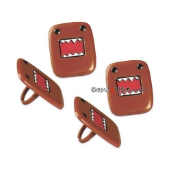 Food Decorating Party Ring Topper Domo