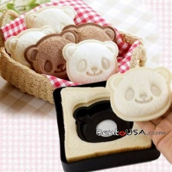 Japanese Bento Lunch Pocket Sandwich Cutter Mold Stamp Panda