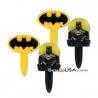 Food Decorating Pick Batman and Bat Symbol Bookmark