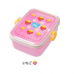 Microwavable Japanese Bento Box Lunch Snack Box Strawberry Flower