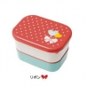 Microwavable Japanese Bento Box Lunch Snack Box Ribbon
