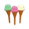 Food Decorating Pick Puffy Bento Food Pick Ice Cream Cone