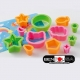 Value Set Bento Decoration Ham Cheese Cutter Set 12pcs with Baran