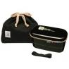 Authentic Japanese Bento Box Lunch Box Designer Set Black