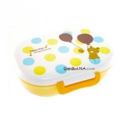 Microwavable Japanese Kids Bento Lunch Box Yellow Bear