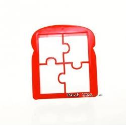 Bento Accessories Sandwich Cutter Fun Puzzle