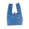 Japanese Bento Cloth Tote Bag for bento box lunch box - Blue Flower