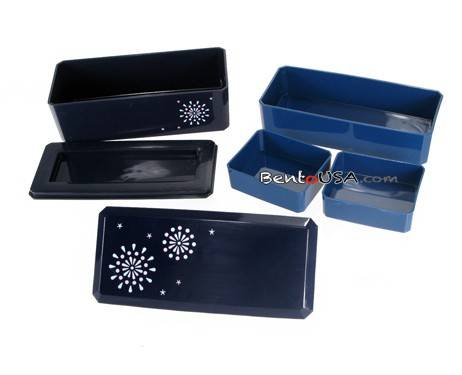 cucina slim bento lunch box set section bento box lunch box set slim with silicone cups. Black Bedroom Furniture Sets. Home Design Ideas