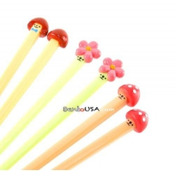 Japanese Cute 3D Chopsticks Mushroom Flower