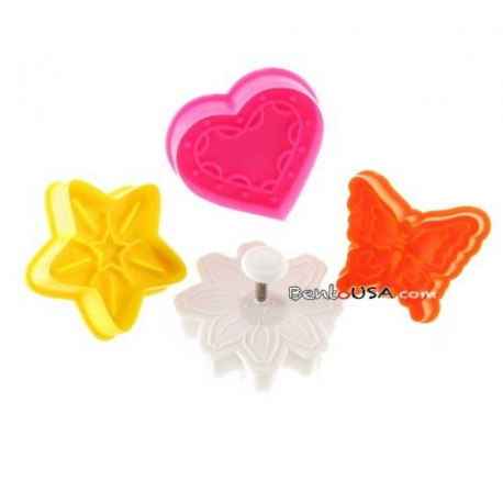 Bento Pastry Cookie Cutter and Stamp